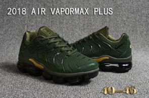 air vapormax plus baskets basses army vert or